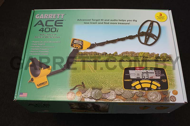 Garrett Ace 400i в наличии на складе в Минске