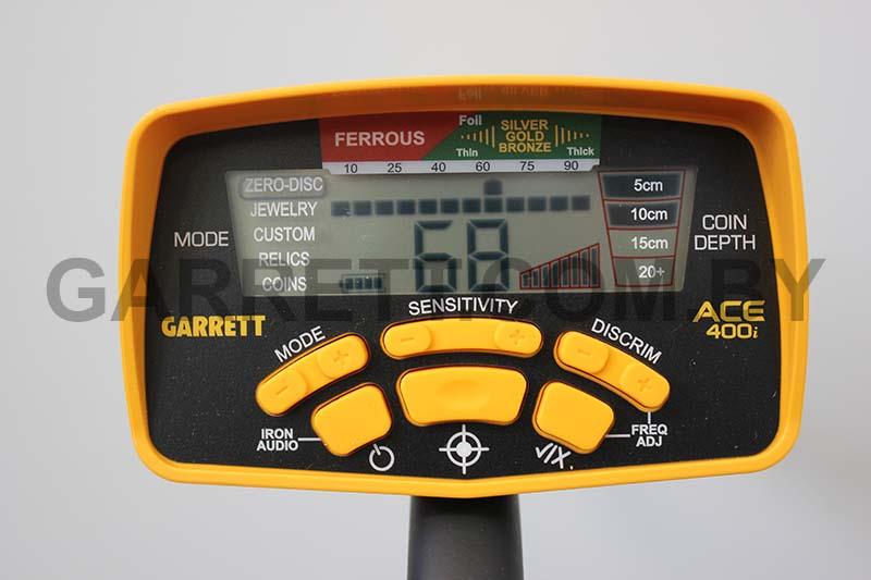 Garrett Ace 400i в магазине металлоискателей купить